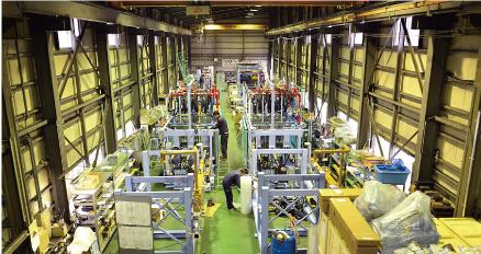 省力化機械の第1組立工場