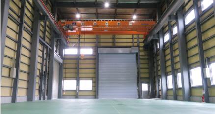 省力化機械の第2組立工場